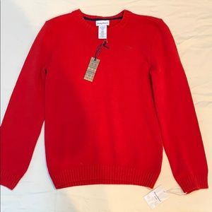Tommy Bahama red knit sweater NWT